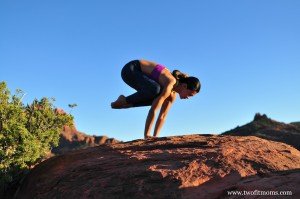 two fit moms » pose of the week bakasana